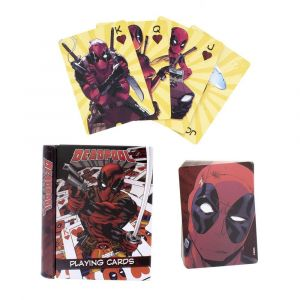 Paladone Deadpool - Jeu de Cartes à Jouer Deadpool Designs
