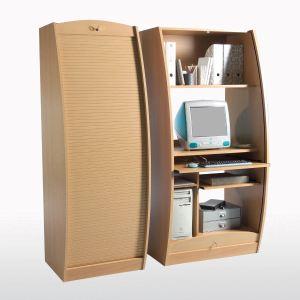 bureau secrtaire informatique galbe