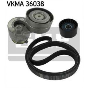SKF Kit de courroies d'accessoires VKMA36038