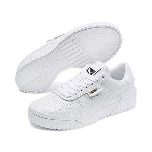 Puma Cali Wn's, Baskets Basses Femme Blanc White White 01) 36 EU