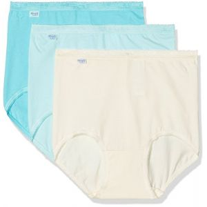 Sloggi 1QR40B - Boxer - Lot de 3 - Femme - Turquoise (Turquoise - Light Combination J7) -FR 56 Taille Fabricant 54
