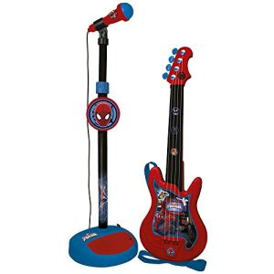 Guitare + micro Spiderman