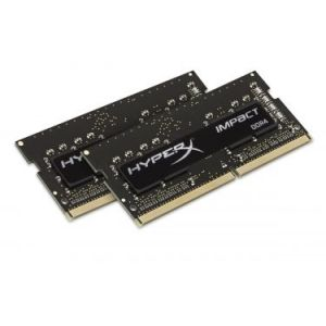 Kingston HX424S14IBK2/8 - Barrette mémoire HyperX Impact DDR4 8 Go (2 x 4 Go) SODIMM 260 broches