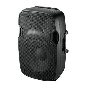 """Ibiza Sound Ibis XTK8A Enceinte Sono Moulée Active 8""""/20 cm 200 W Noir"""