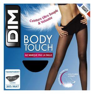 DIM Collant Bocy Touche Transparent Noir T3 - Le Collant