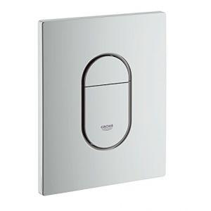 Grohe Arena Cosmopolitan Plaque de commande WC chromé mat (38844P00)