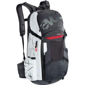 Evoc FR Trail Unlimited - Sac à dos Femme - 20L blanc/noir M/L Sacs à dos vélo