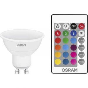 Osram Ampoule LED Retrofit RGBW Télécommande GU10 4.5W (25W) A