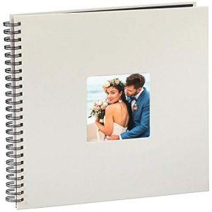 Hama Fine Art Spiral kreide 36x32 50 schwarze Seiten 2109