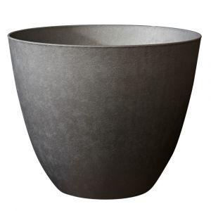 Poetic Pot Element rond de 26 L coloris gris ardoise Ø 39 x 32 cm