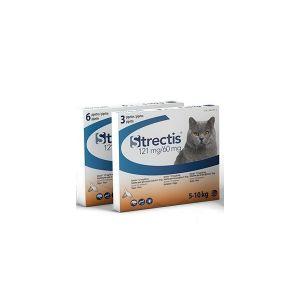 Ceva Strectis chat 121 mg pour chat de 5 à 10 kg  6 pipettes