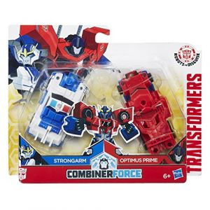 Hasbro Robot Crash Combiners Strongarm + Optimus Prime