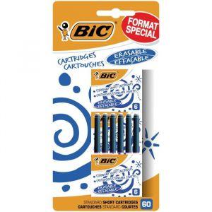 Bic Lot de 60 Cartouches courtes Universelles - Bleu