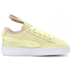Puma Chaussure Suede Easter Alternate Closure pour bébé Yellow-Coral Cloud-Gold 9_Infant