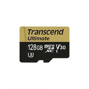 Transcend TS128GUSDU3M - Carte mémoire 128 Go microSDXC UHS-I
