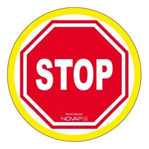 Novap Disques d'interdiction rigides fluorescents D300 stop