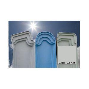 Matpro Peinture Piscine Polyester Gris Clair 5 Kg Gris clair