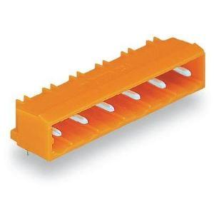 Wago 231-963/001-000 - Embase mâle coudé à 90° 3 pas 7.62 mm avec parois laterales en emballage industriel de 200 pc(s)