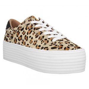 No Name Spice Sneaker Pony Femme Leopard