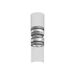 Ubbink 50706014 - Raccord flexible à flexible Chemilux Condensation B22 - B23 PPTL diamètre : 110 Fioul Gaz
