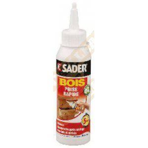 Sader Colle à bois prise rapide - Prise rapide 5 minutes - Biberon 100 g