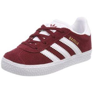 Adidas Gazelle I, Chaussures de Fitness Mixte Enfant, Rouge (Buruni/Ftwbla/Ftwbla 000), 23 EU