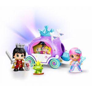 Famosa Coffret carrosse Pinypon Prince et Princesse