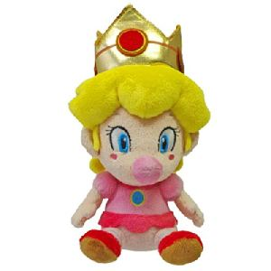 Together Peluche Mario Bros : Baby Peach 13 cm