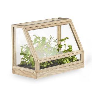 Design House Stockholm Greenhouse Mini - Serre - frêne/laqué/seulement pour interieur/60x95x40cm