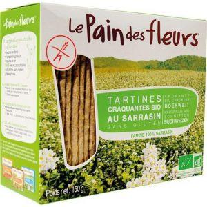 Le pain des fleurs Tartine craquante au sarrasin 150g