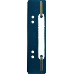 Exacompta 426007B - Fixe-dossier à lamelles, polypro, coloris bleu foncé