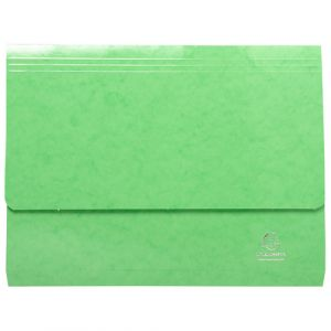 Exacompta 6523Z - Chemise poche IDERAMA, coloris vert anis