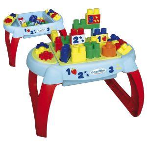 Ecoiffier Les Maxi Table d'éveil construction premier âge