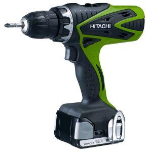 Hitachi DS 14DSFL (1.5L) - Perceuse visseuse sans fil 14,4V avec 2 batteries