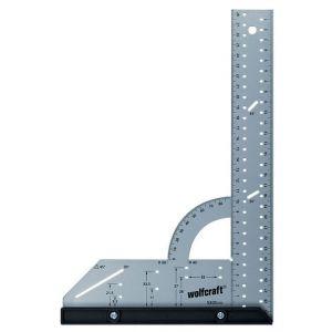 Wolfcraft Équerre multifonction longueur 500mm à butée amovible 280x500