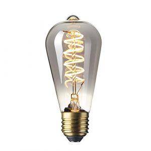 Calex Ampoule edison LED filament titanium 4W (remplace 10W) E27