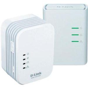 D-link DHP-W311AV - Kit de 2 adaptateurs CPL PowerLine AV 500 Mbps et Wifi 300 Mbps