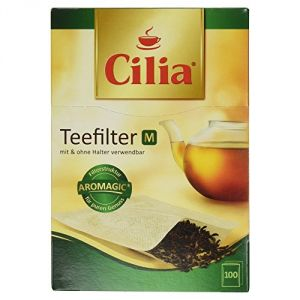 Melitta Cilia - 100 filtres à thé (taille M)