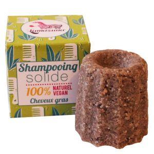 Lamazuna Shampoing solide pour cheveux gras Litsée citronnée