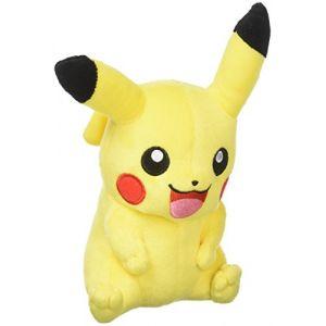 Tomy Pikachu Peluche – Pokémon Peluche 20 cm de Haute qualité – pour Jouer et à Collectionner – à partir de 3 Ans