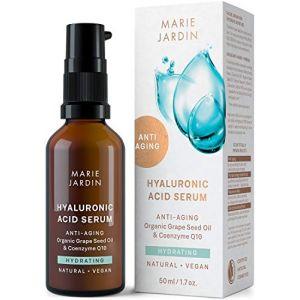 Marie Jardin Sérum Visage à l'Acide Hyaluronique, Vitamine C et Q10 Concentré - 50 ml