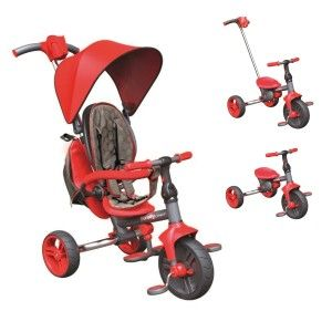 Y Volution Tricycle Y Strolly Compact Rouge