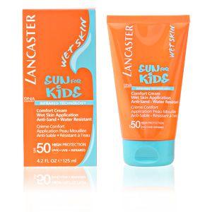 Lancaster Sun for Kids - Crème confort application peau mouillée anti-sable résistant à l'eau SPF 50