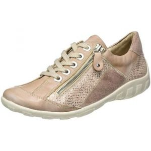 Remonte R3419, Sneakers Basses Femme, Rose (Whitenude/Lightrose-Silver/Rose), 39 EU