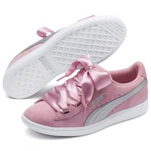 Puma Baskets basses JR VIKKY RIBBON.LILAC rose - Taille 36,37,38,39