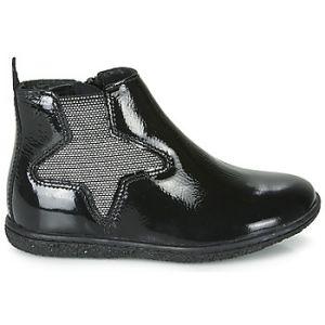 Kickers Boots enfant VERMILLON Noir - Taille 28,29,30,31,32,33,34
