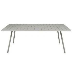 Fermob Luxembourg - Table de jardin rectangulaire en aluminium 207 x 100 x 74 cm