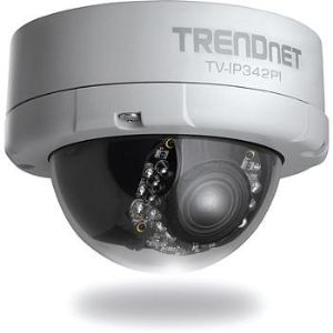 TrendNet TV-IP342PI - Caméra IP dôme