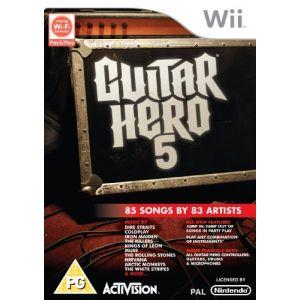 Guitar Hero 5 [Wii]