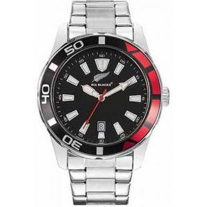 All Blacks 680300 - Montre pour homme avec bracelet en acier